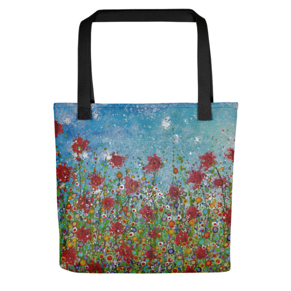 7307bad8aaf1 Tote bag Where The Flowers Dance - Alyson Howard
