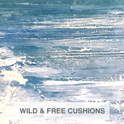 Wild and Free cushions